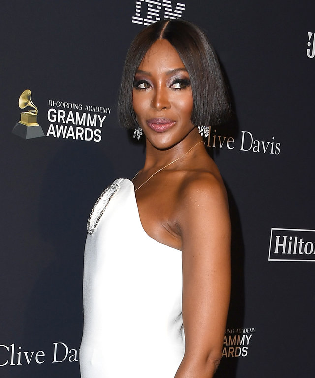 Naomi Campbell Pre-GRAMMY Gala and GRAMMY Salute