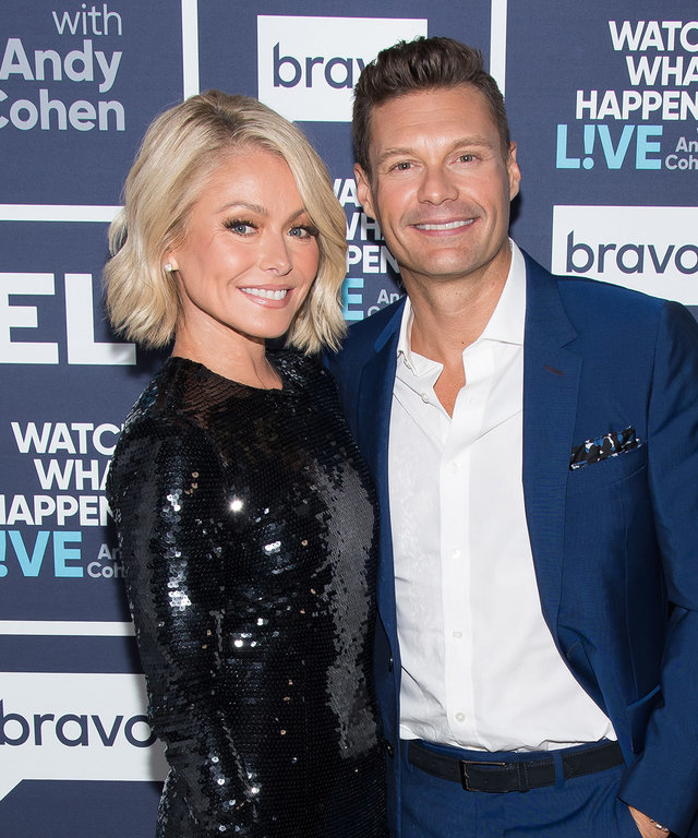 Kelly Ripa Ryan Seacrest Watch What Happens Live With Andy Cohen