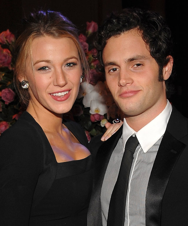 Blake Lively Penn Badgley 2009 Angel Ball - Cocktails & Show