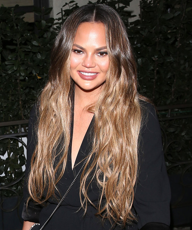 Chrissy Teigen Sheer Leggings Tights