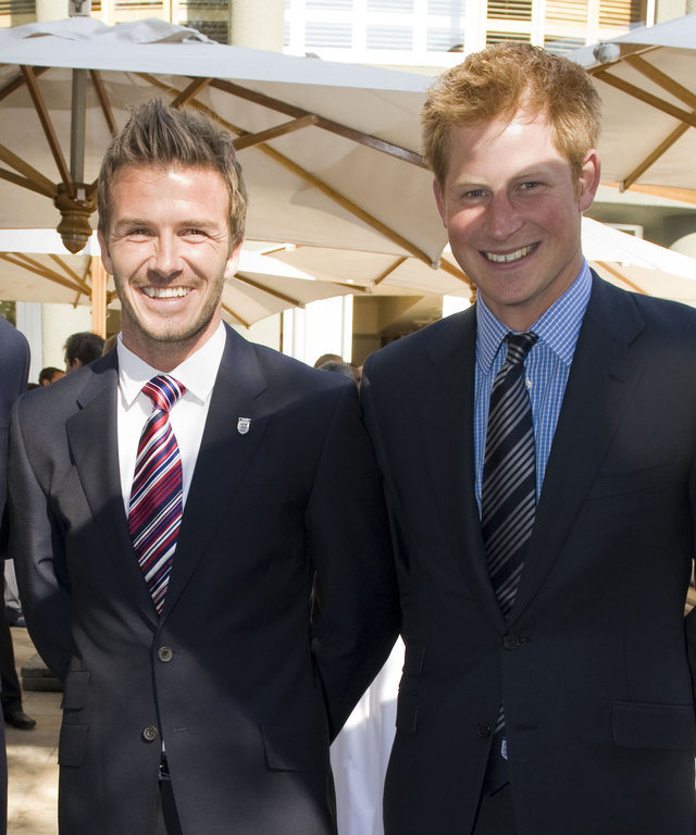 Prince William And Prince Harry Visit Africa