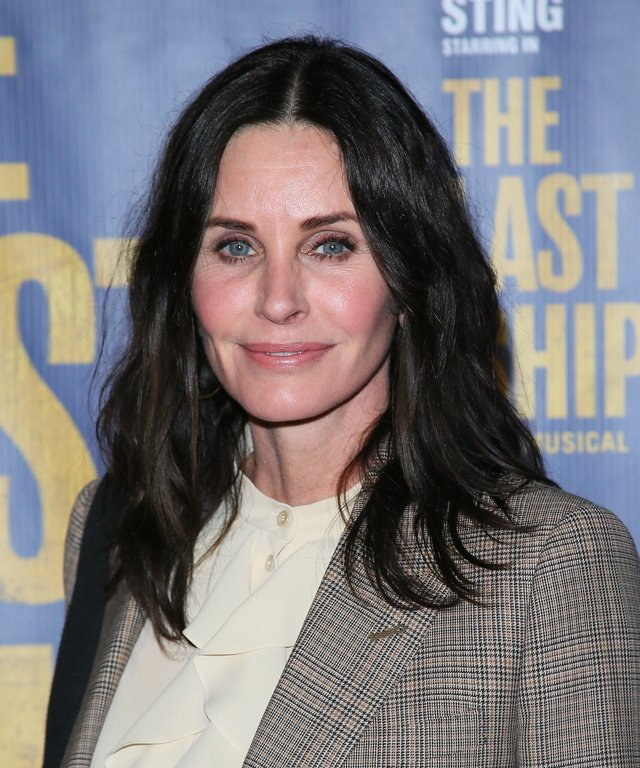 Courteney The Last Ship Opening Night