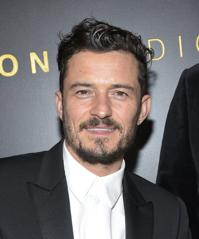 Orlando Bloom Amazon Studios Golden Globes After Party