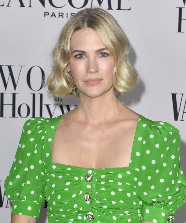 January Jones Vanity Fair and Lancôme Women In Hollywood