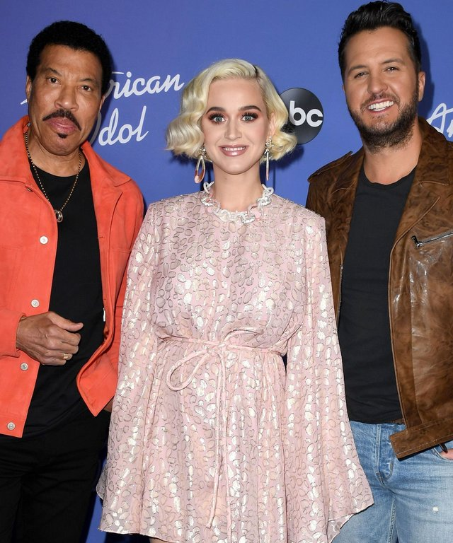 Katy Perry, Lionel Richie, Luke Bryan - ABC Hosts Premiere Event For  American Idol
