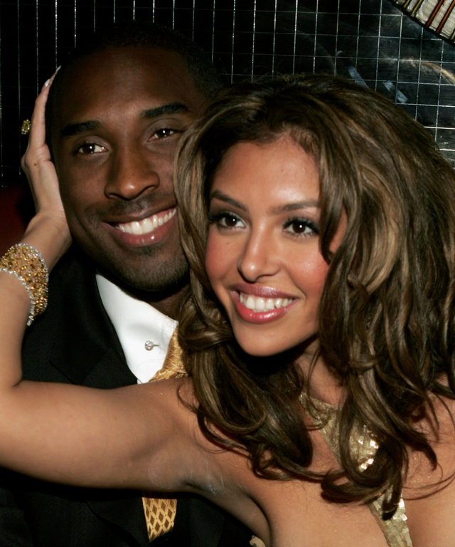Kobe Bryant and Vanessa Bryant - World Music Awards After Party