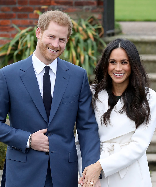 Meghan Markle, Prince Harry Valentine's Day