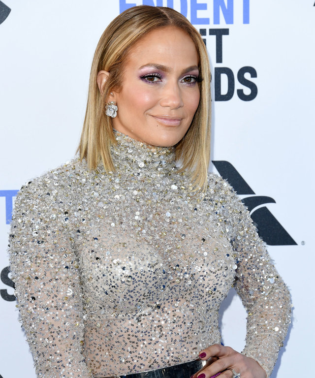 Jennifer Lopez 2020 Independent Spirit Awards - Jennifer Lopez's Hairstyles