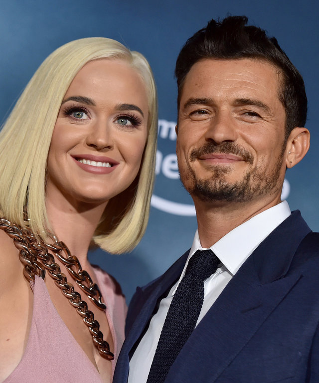 Katy Perry and Orlando Bloom Premiere Of Amazon's  Carnival Row  - Arrivals