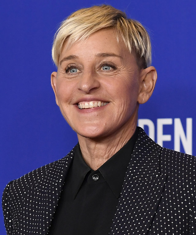 Ellen DeGeneres - NBC's  77th Annual Golden Globe Awards  Press Room