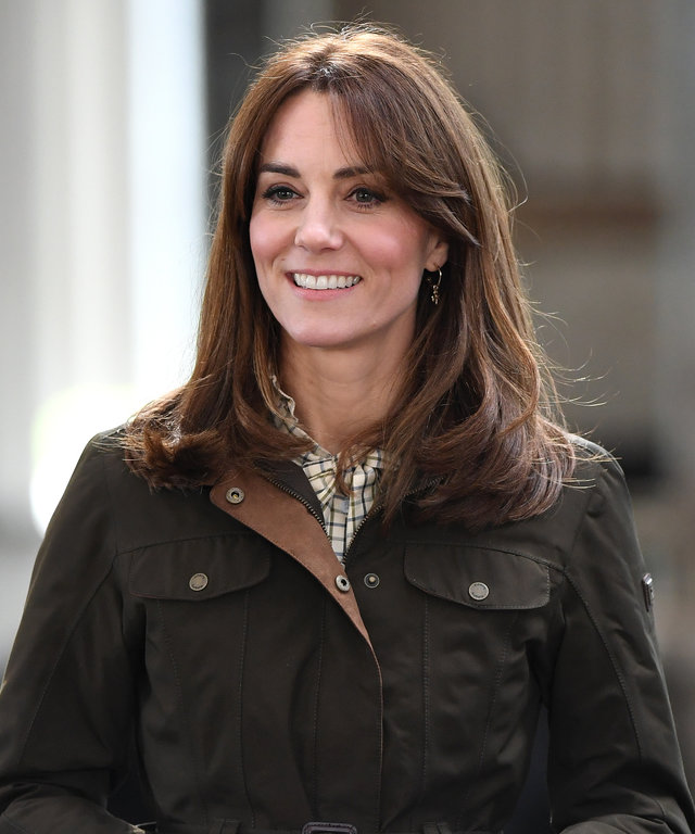 Kate Middleton self isolation blow out no jewelry