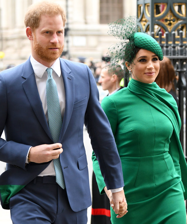 Meghan Markle and Prince Harry - Commonwealth Day Service 2020