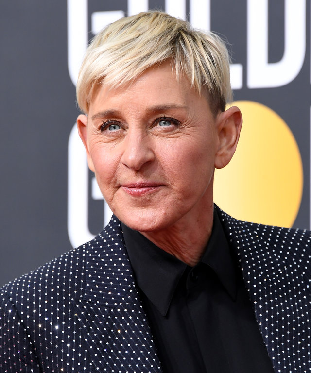 Ellen DeGeneres - 77th Annual Golden Globe Awards - Arrivals
