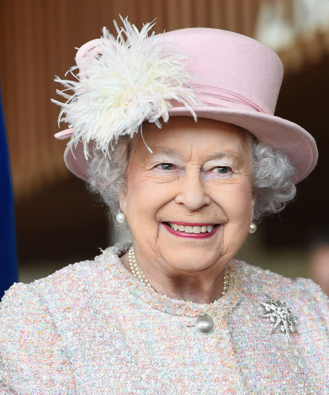 The queen's favorite nail polish
