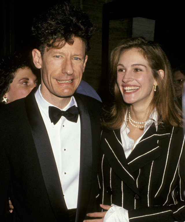 Julia Roberts and Lyle Lovett - Opening Night of The 31st Annual New York Film Festival