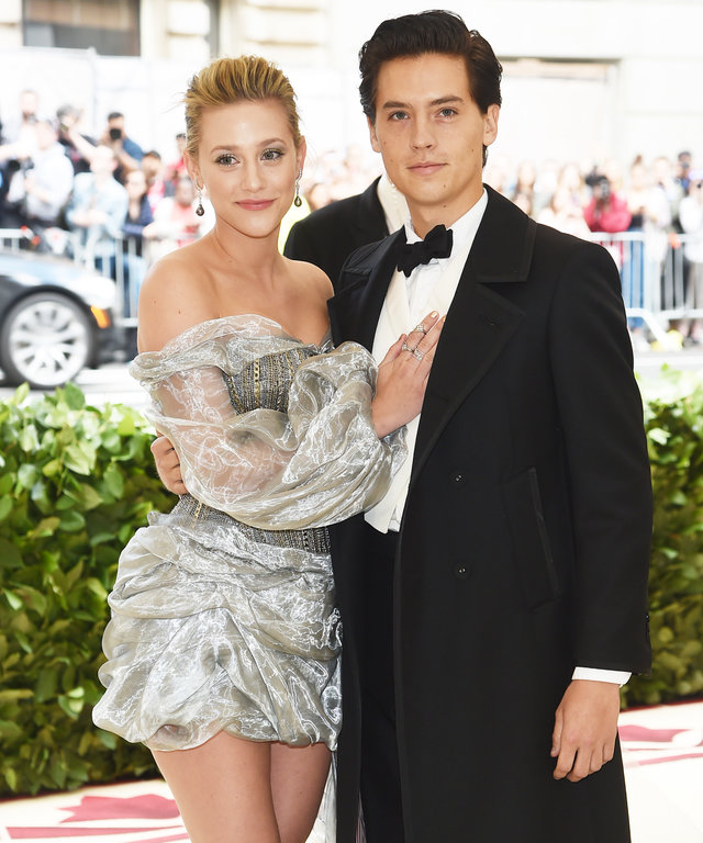 Lili Reinhart and Cole Sprouse