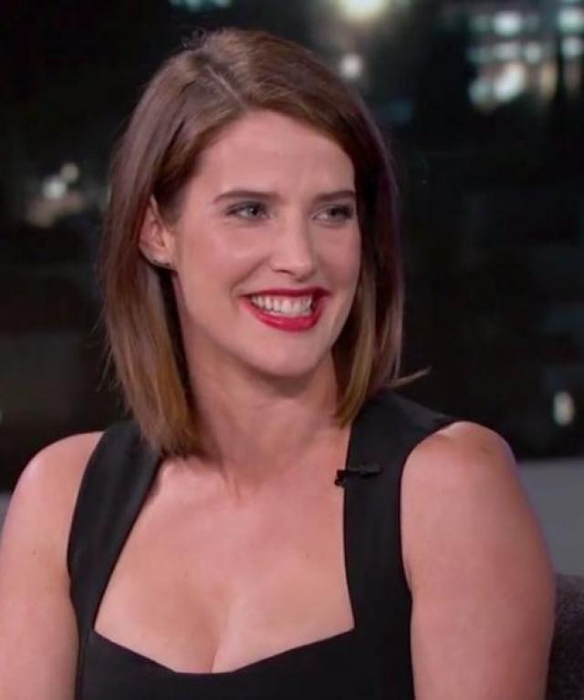 Cobie Smulders on Jimmy Kimmel Live!