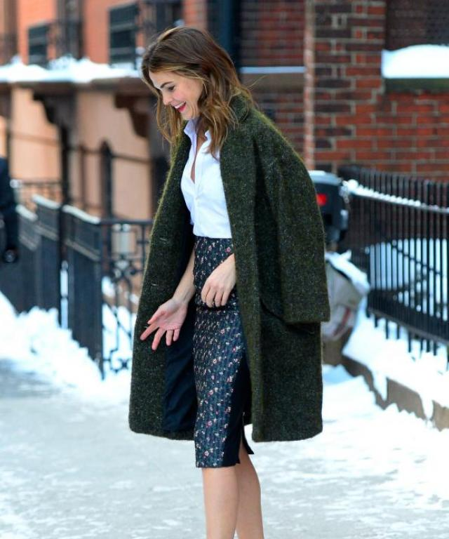 Celebs in the Winter