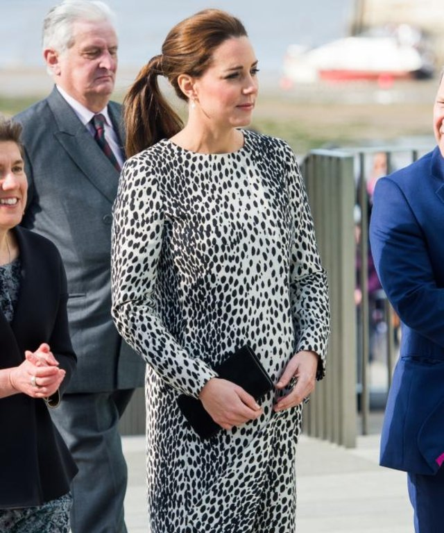 Kate Middleton in Hobbs coat