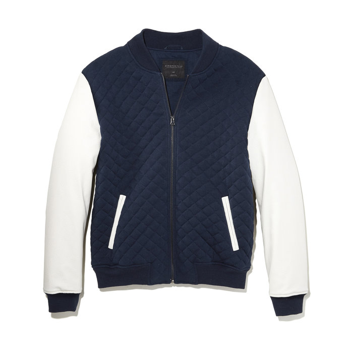 Aero Quilted Baseball Jacket
