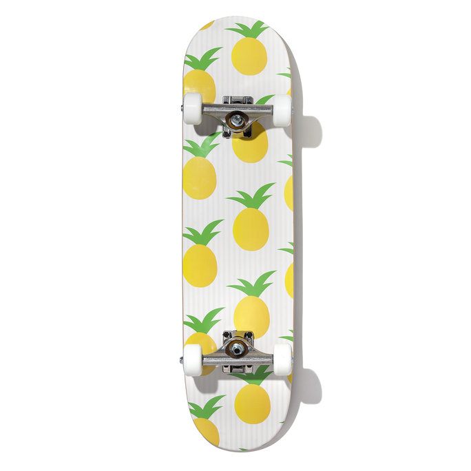 ZAZZLE PINEAPPLE SKATEBOARD