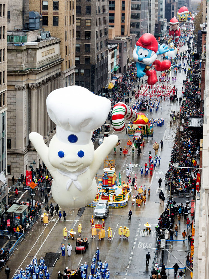 The 91st Annual Macy's Thanksgiving Day Parade