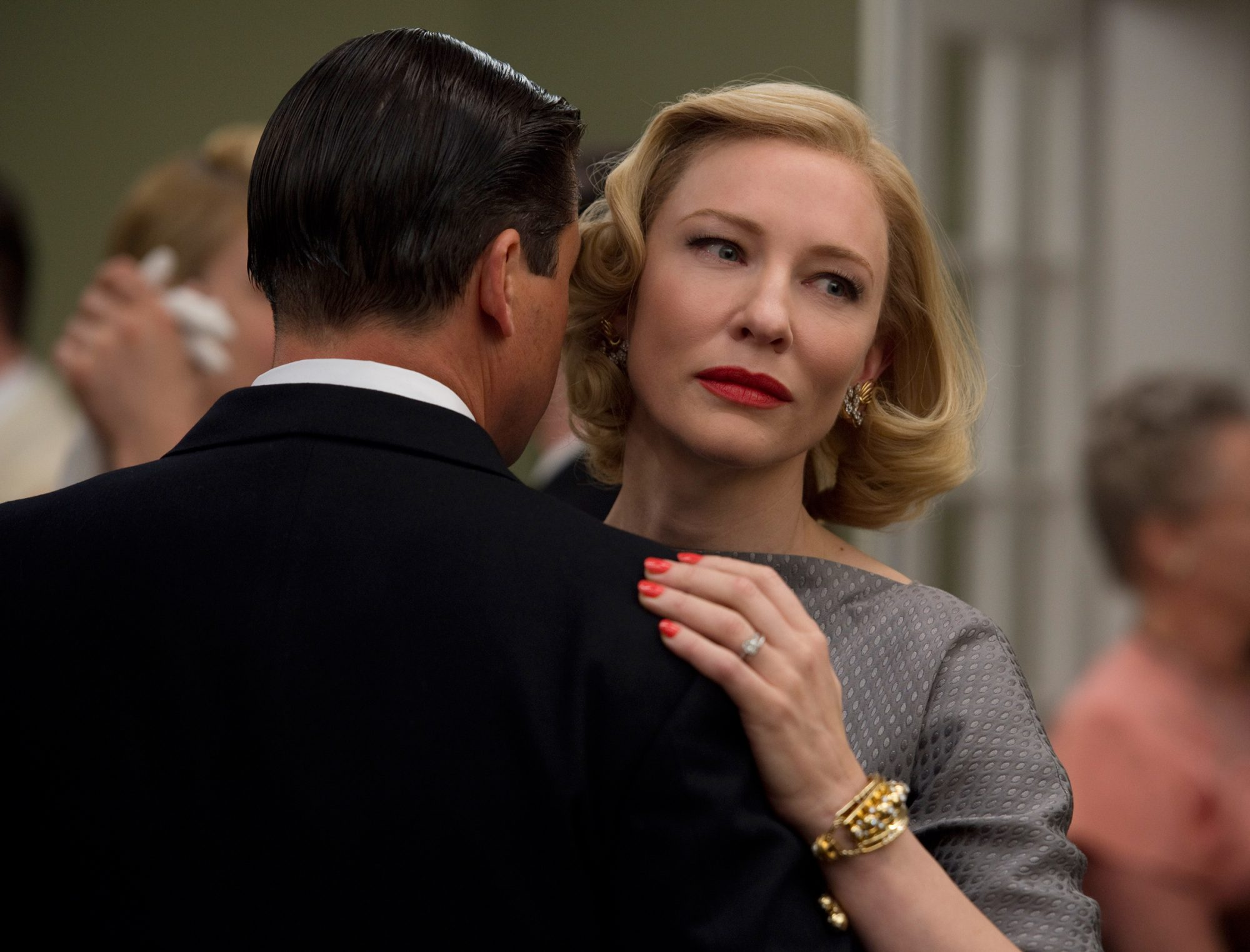 Everything Carol wears is real.