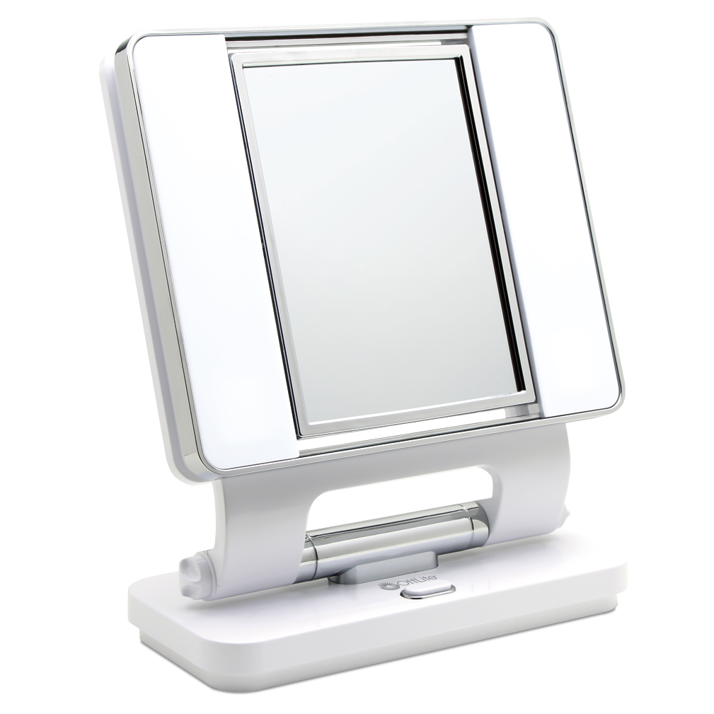 OttLite Natural Makeup Mirror - White