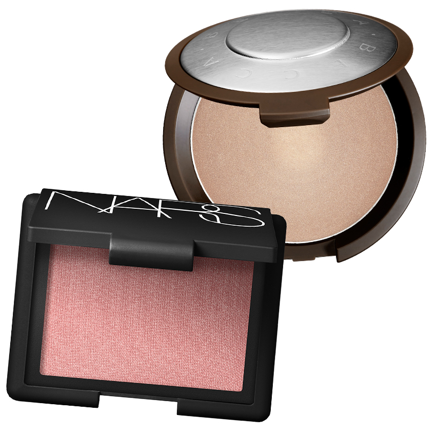 Blush and Highlighter
