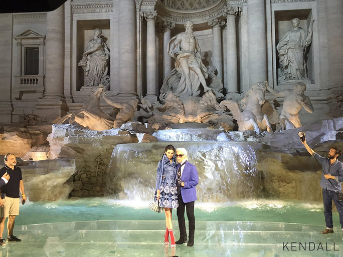 Fendi's 90th Anniversary Runway Show Included Models Walking on Water