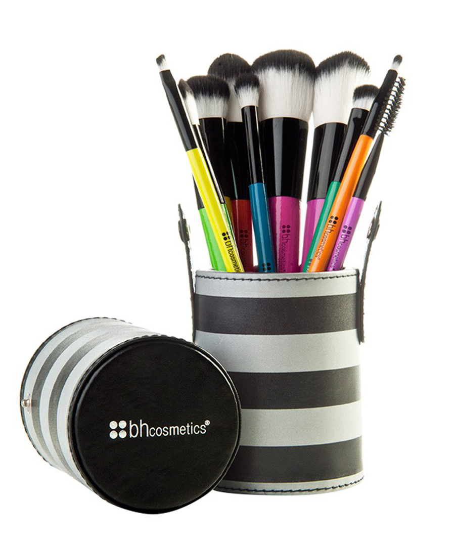BH Cosmetics 10-piece Pop Art Brush Set
