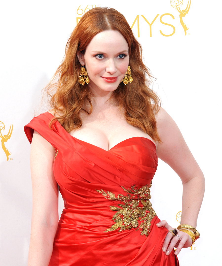 Christina Hendricks, 2014