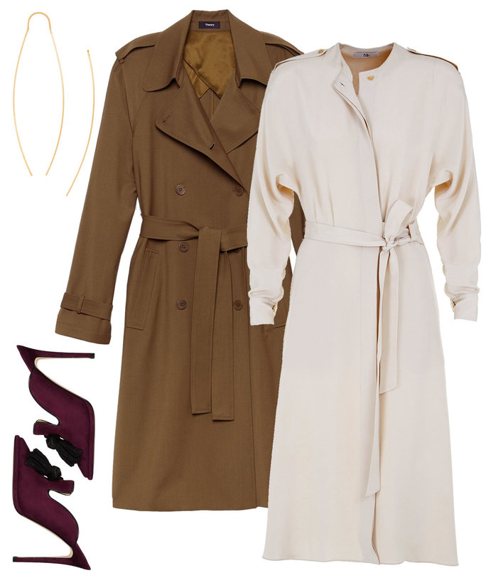 3 Stylin Trench Coat - 1