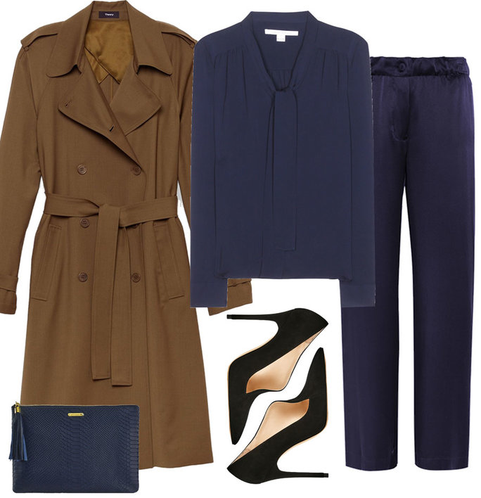 3 Stylin Trench Coat - 2