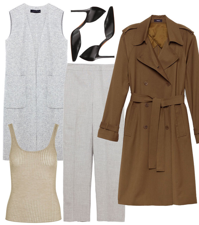 3 Stylin Trench Coat - 3