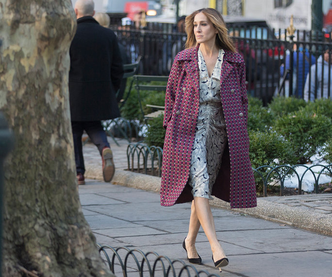 She has a few dressier coats for special occasions, too