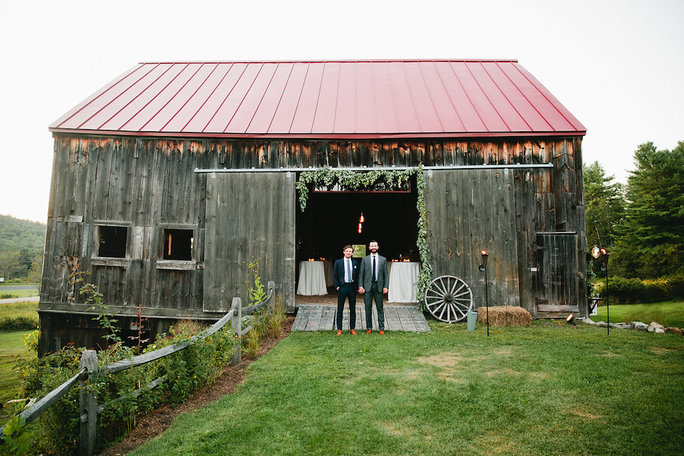 Perfect for a barn celebration.