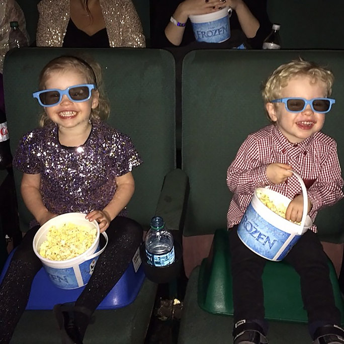Gideon and Harper Experience Frozen in 3D