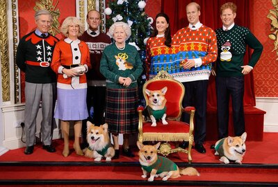 Royal Family Christmas.This Photo Of The Royal Family In Ugly Christmas Sweaters Is