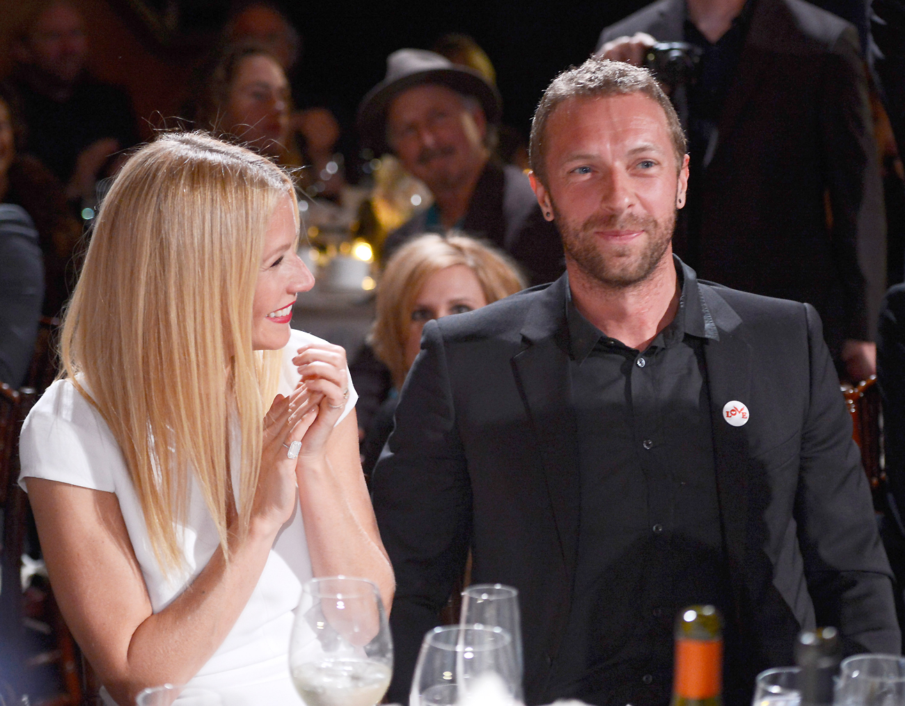 Gwyneth Paltrow and Chris Martin Moments - Lead/Slide 1
