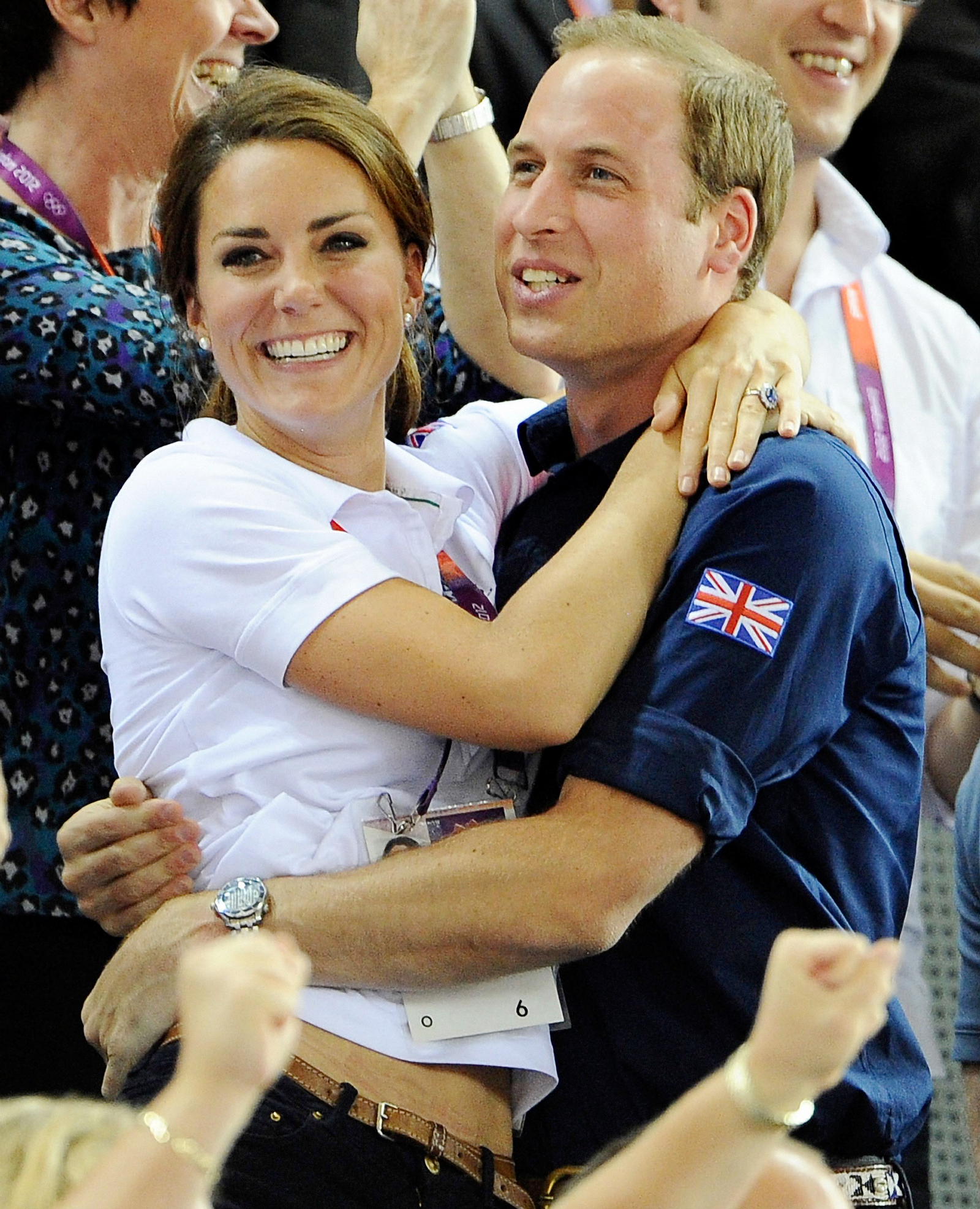 Just a casual embrace during the Olympics. Nothing to see here.