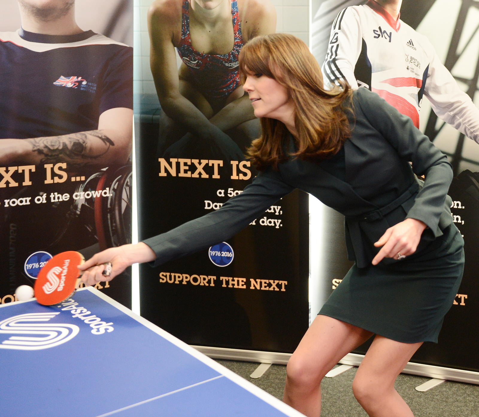 Impeccable suiting + ping-pong skills? Aces.