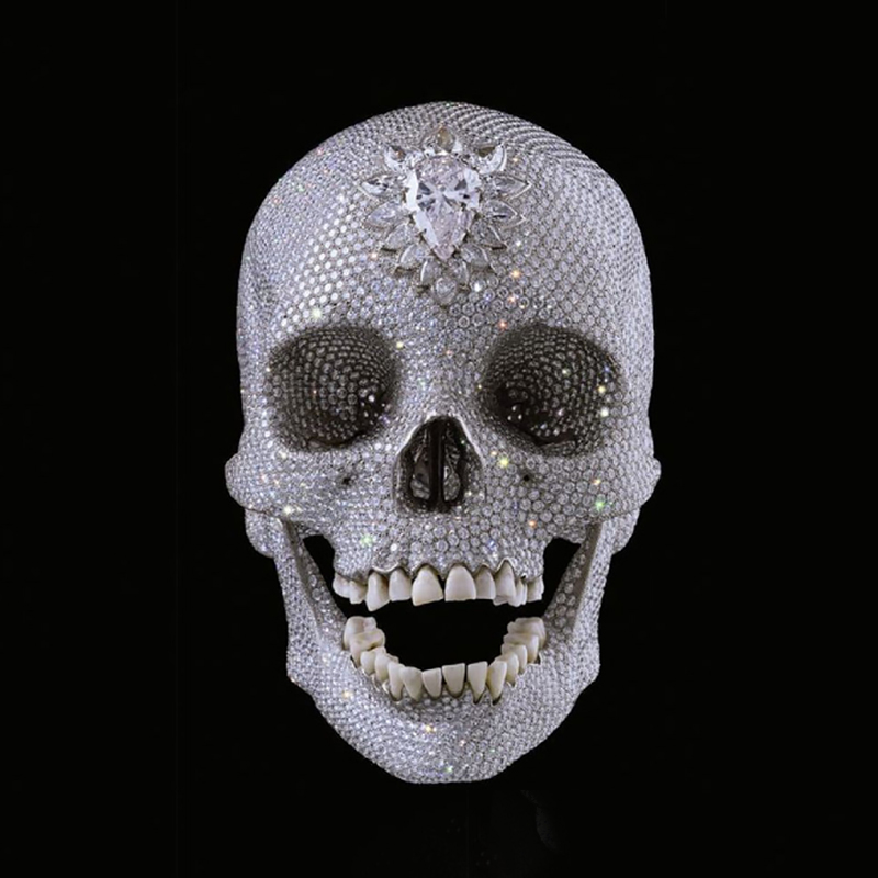 DAMIEN HIRST: FOR THE LOVE OF GOD, THE MAKING OF THE DIAMOND SKULL by Damien Hirst