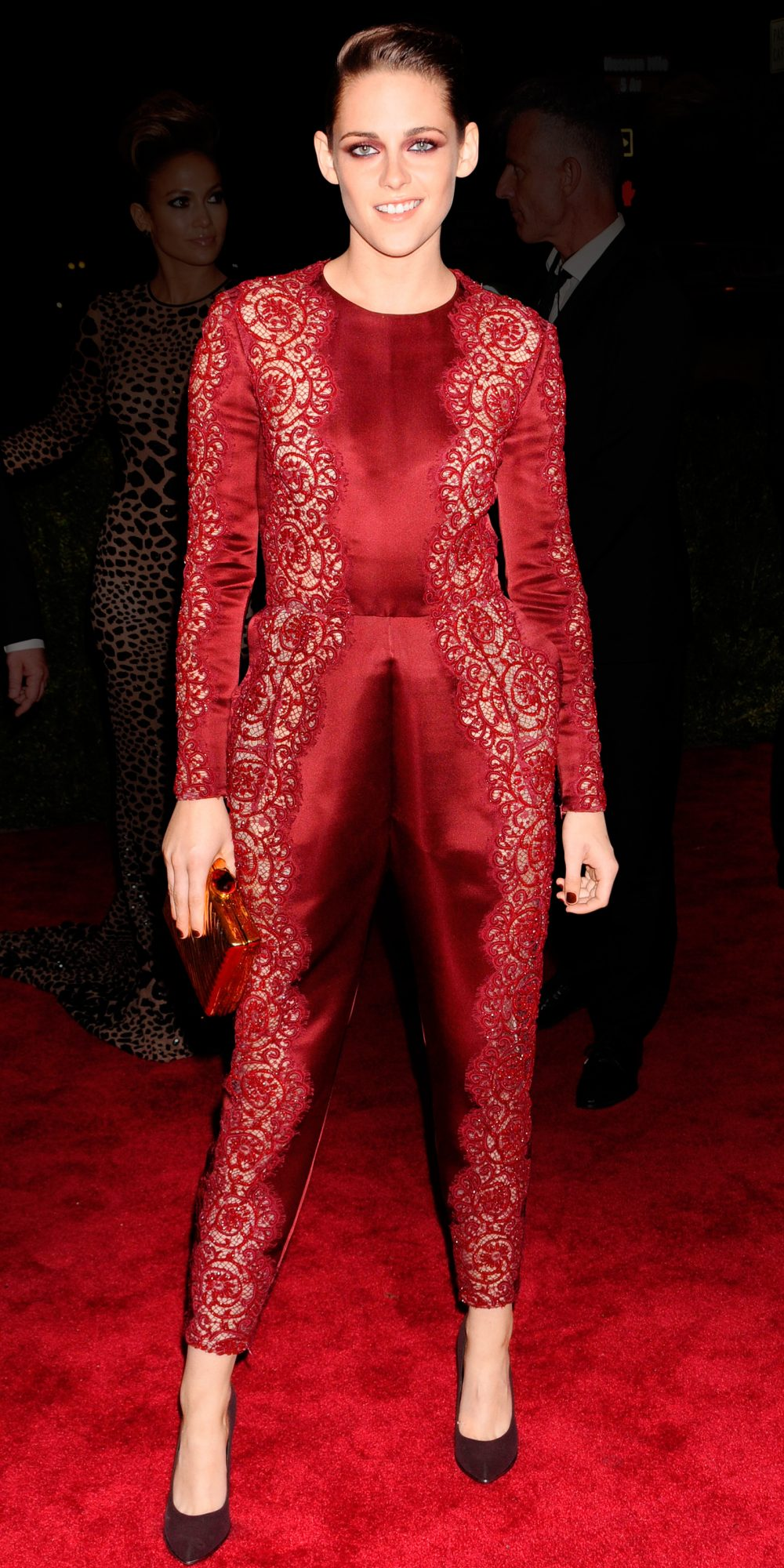 In Stella McCartney at the Met Gala in N.Y.C., 2013