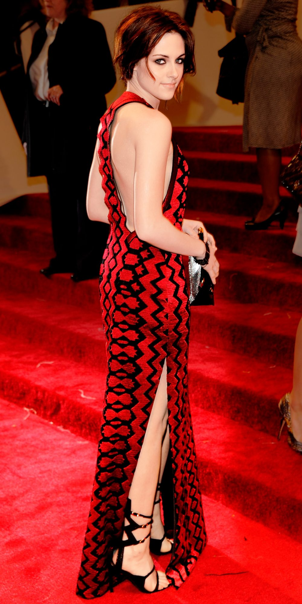 In Proenza Schouler at the Met Gala in N.Y.C., 2011