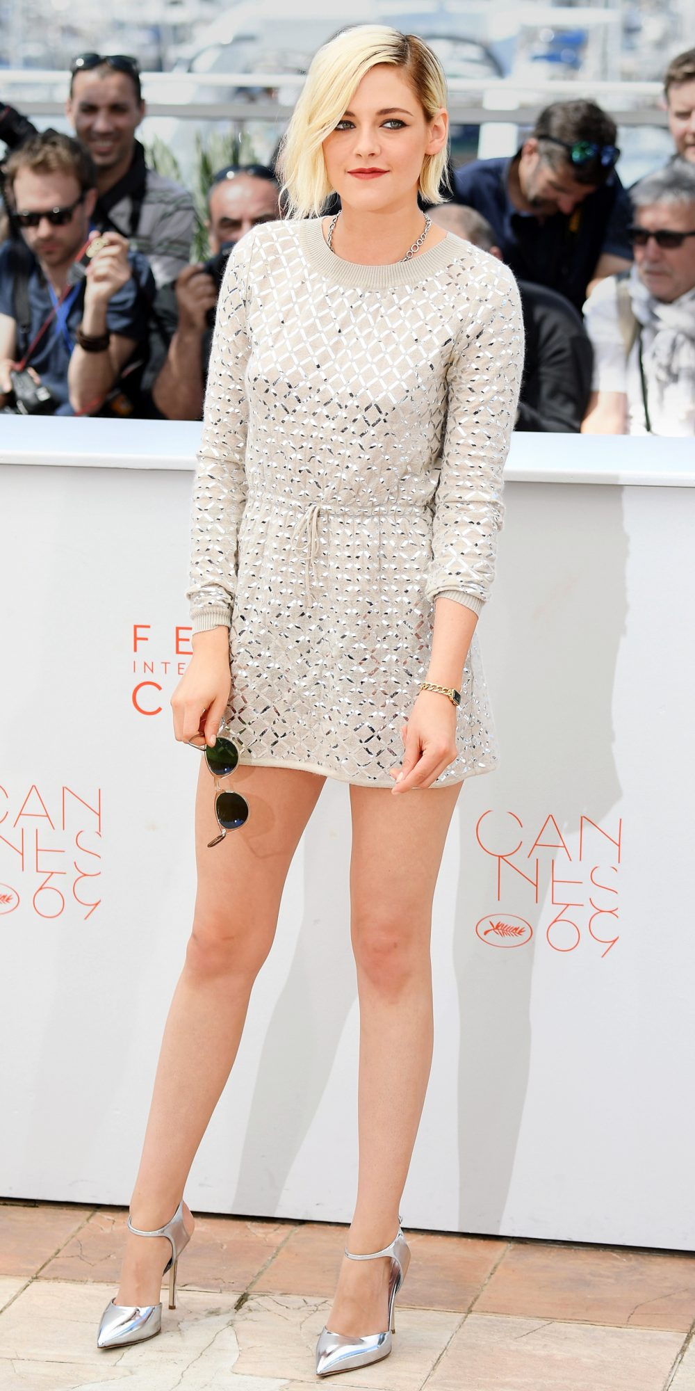 In Chanel at the Cannes Film Festival, 2016