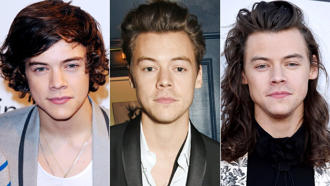 See Birthday Boy Harry Styles S Best Ever Hair Moments Instyle Com