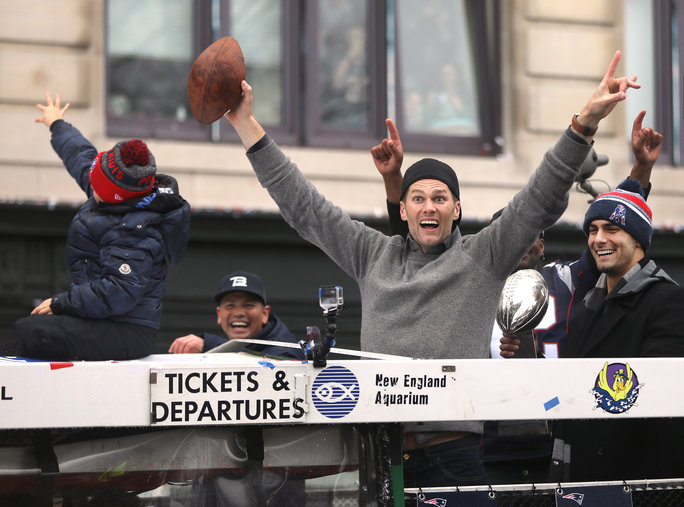 Tom Brady Superbowl Victory Parade - Embed 4