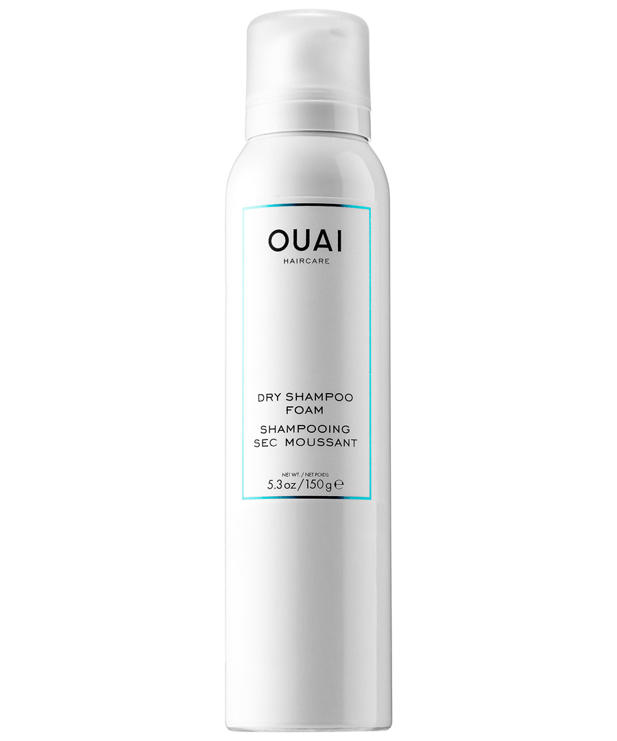 For Bangs: Ouai Dry Shampoo Foam