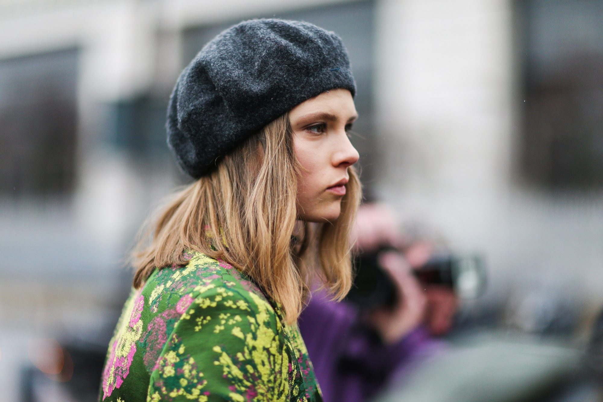COLORFUL COAT AND BERET